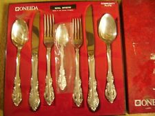 7 Piece Oneida Silverplate Place Setting 1965 Silver ROYAL Artistry
