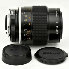 Nikon Micro Nikkor 105mm f/4 AI Macro Spr ShpLens. Near Mint. Tested. See Imgs