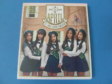 APRIL - BOING BOING [1ST SINGLE ALBUM] CD W/BOOKLET(40P) + PHOTO CARD $2.99 S&H
