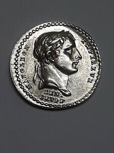 Rare qualité : Quinaire argent du Sacre de l'empereur Napoléon 1er 1805 !!!