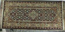 Tappeto in lana annodato a mano persiano vintage orientale per da salotto usato