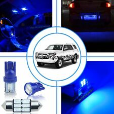 14x Deep Pure Blue LED Interior Map Light Package Kit For Toyota 4Runner 2013 up