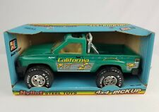 NOS Nylint California Cruiser steel pickup truck teal blue mint in box No.1228