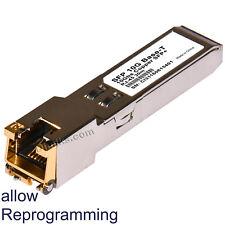 Cisco compatible SFP+ Copper SFP-10G-T 10G Base-T RJ45. Multi rate: 10G and less
