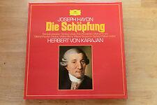HAYDN Schöpfung Creation Janowitz KARAJAN 2LP in box DGG 2720076 MINT