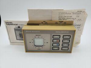 Vintage 1994 White-Rodgers Digital Comfort Set  Thermostat. OG receipt, instruct