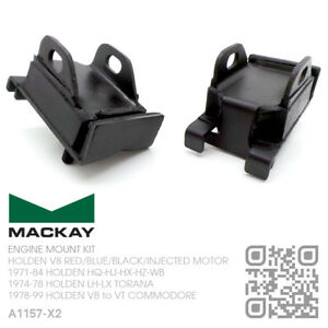 MACKAY ENGINE MOUNTS V8 INJECTED 304 & 355 [HOLDEN VN-VP-VR-VS-VT COMMODORE]