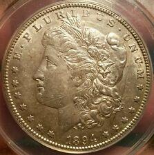 1894 O MORGAN DOLLAR GRADED AU 55 BY ANACS!!!!!