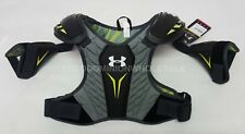 New Under Armour Sz: Xs Grey Nexgen Lacrosse Shoulder Pads