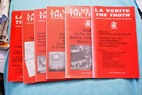 La Verite - The Truth --- Magazine Lot of 6