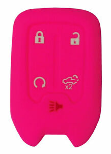 GMC Keyless Entry Key Fob Silicone Rubber Remote Cover 2019 - 2021 Sierra Truck