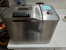 Breville Custom Loaf Bread Maker BBM800XL Gluten Free Fruit Nuts dispenser