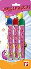 Pennine Bingo Dabbers -Multi-Coloured, No Ink Blobs BNIP Guaranteed, Pack of 3