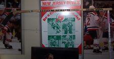 Bob Hoffmeyer New Jersey Devils NHL Game Used Sherwood 5030 Wood Hockey Stick