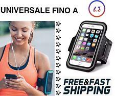 Fascia Porta telefono da Braccio Polso Sport Corsa Bici Smartphone Universale