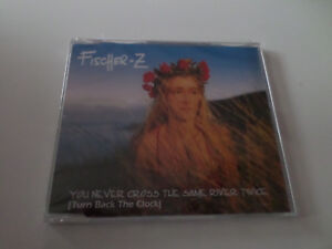 Fischer - Z / You never cross the same river twice     Maxi CD