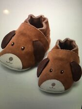NIB Baby Boden puppy suede shoes for baby 6-12 months in original box