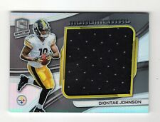 DIONTAE JOHNSON NFL 2019 SPECTRA MONUMENTAL MEMORABILIA  (PITTSBURGH STEELERS)