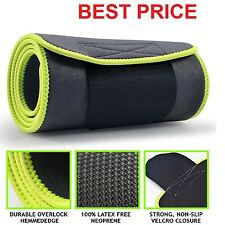 Sport Authority Waist Trimmer Ab Belt Weight Loss Fat Wrap Sweat Body Exercise