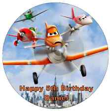 """Disney Planes Personalised Cake Topper Edible Wafer Paper 7.5"""""""
