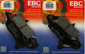 EBC HH Sintered Front Brake Pads FA229HH Kawasaki VN 900 C Custom 2007-2017