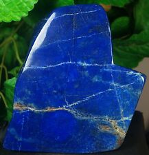 LAPIS LAZULI HAND POLISHED CRYSTAL MINERAL SPECIMEN 2375 GRAMS FROM AFGHANISTAN