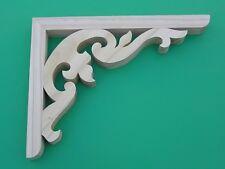 Wooden Verandah Bracket ( Medium ) Fretwork - 260mmH x 330mmW x 35mm Thick