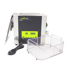 SonixTek Nettoyeur à Ultrasons 10L - Inox