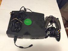 X BOX CONSOLE 2 CONTROLLER 2001 BLACK