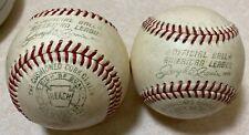 Lot of 2 Vintage Spalding Reach Baseballs Official American League Baseball