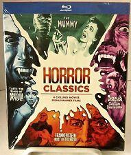 Hammer Horror Classics Volumen Uno (Blu-Ray Set, warner, oct-2015) 4 DISCOS