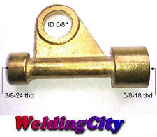 Power Cable Adapter 105Z57 for TIG Welding Torch 9/17 Series (U.S. Seller)
