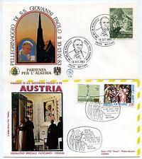 Vaticano 1983 Viaggio Giovanni Paolo II in Austria (m1596)