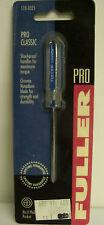 Fuller 110-0321 Pro Classic No. 0 Phillips Pocket Screwdriver Phillips Tip