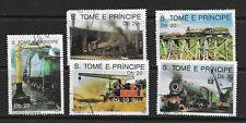 Sao Tome and Principe 1989 Locomotives (60) Canc