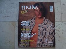 DeAnthony F. MATE gay photography lifestyle magazine nude male Africa model
