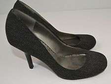 Women's Jessica Simpson Sz 8 B Black  Pumps High Heels Career Dress Shoes