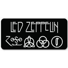 "Led Zeppelin heavy metal ZOSO Vynil Car Sticker Decal   5"""