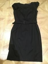 Warehouse Black Dress Size 12 Worn Once Immaculate