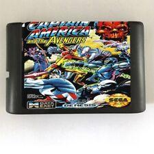 Captain America and The Avengers 16-Bit Fits Sega Genesis Mega Drive Game