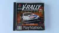 V-RALLY 2 / jeu Playstation 1 - PS one / complet / PAL / V RALLY 2