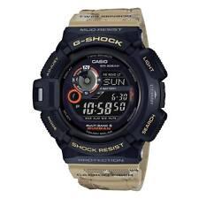 Casio GW9300DC-1 Men's Mudman Digital Dial Beige Resin Band Watch