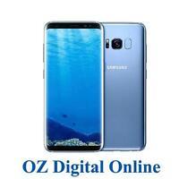 "NEW Samsung Galaxy S8 Dual Sim G950FD 64GB Blue 12MP 4G LTE 5.8"" Unlocked Phone"
