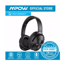 Mpow H12 Noise Cancelling Headphones Bluetooth, Wireless/Wired Headphones Over