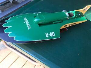 SavyBoats Miss Bardahl Hydroplane boat