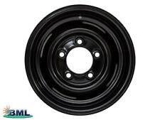 "LAND Rover Defender Nero Stile di bordo 1-TON 16"" x 8. parte DA2694"