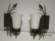 Oil Rubbed Bronze Wall Mount MODERN DESIGN SCONCE-DISPLAY/DEMO UNIT NEW F/SHIP!!