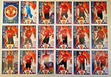 MATCH ATTAX UEFA CHAMPIONS LEAGUE 2018/19 FULL SET OF ALL 18 MANCHESTER UNITED