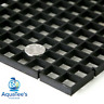 Grid Divider Tray Egg Crate Aquarium Fish Tank Filter Bottom Isolate BLACK X 1