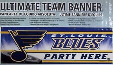 St Louis Blues 6 Foot Team Banner Party Banner